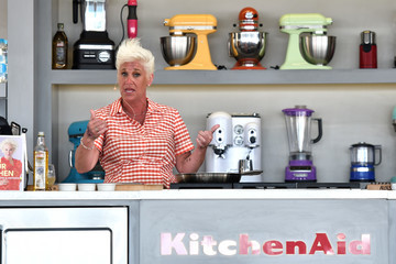 Anne Burrell Goya Foods' Grand Tasting Village Featuring Mastercard Grand Tasting Tents & KitchenAid Culinary Demonstrations - Day 2