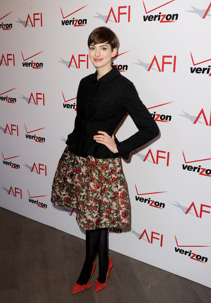 Anne Hathaway - 13th Annual AFI Awards - Red Carpet