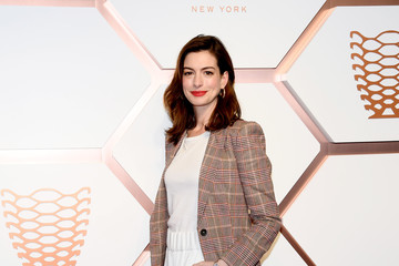 Anne Hathaway Hudson Yards VIP Grand Opening Event- Arrivals