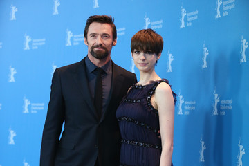 Anne Hathaway Hugh Jackman 'Les Miserables' Photocall - BMW At The 63rd Berlinale International Film Festival