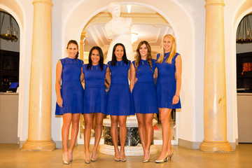 Anne Keothavong Heather Watson Fed Cup Europe/Africa Group One - Official Dinner