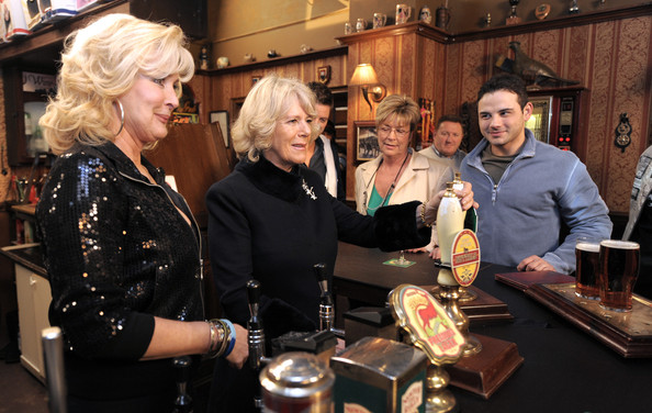 The Duchess Of Cornwall - Coronation Street Visit