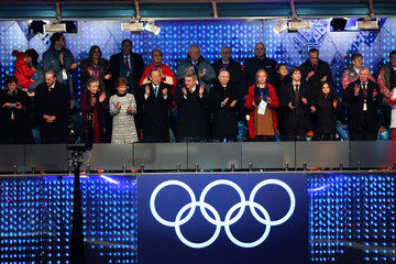 Anne Rogge Winter Olympic Games Opening Ceremony