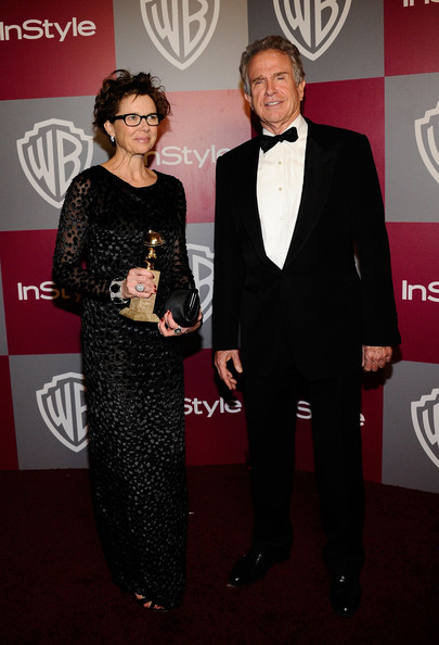 Annette Bening - 2011 InStyle/Warner Brothers Golden Globes Party - Arrivals