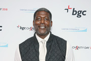 Larry Johnson attends Annual Charity Day hosted by Cantor Fitzgerald, BGC and GFI at BGC Partners, INC on September 11, 2018 in New York City.