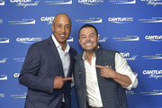 John Starks and Nick Swisher attend the Annual Charity Day Hosted By Cantor Fitzgerald, BGC and GFI on September 11, 2019 in New York City.