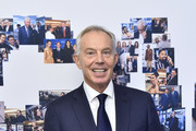 Tony Blair attends the Annual Charity Day Hosted By Cantor Fitzgerald, BGC and GFI on September 11, 2019 in New York City.