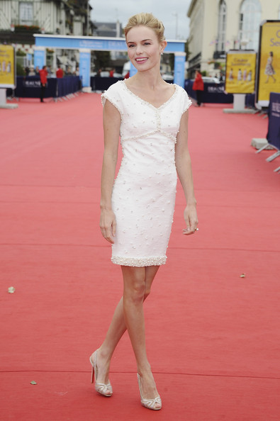 Kate Bosworth arrives for the 'Another Happy Day' screening during the 37th Deauville Film Festival on September 4, 2011 in Deauville, France.