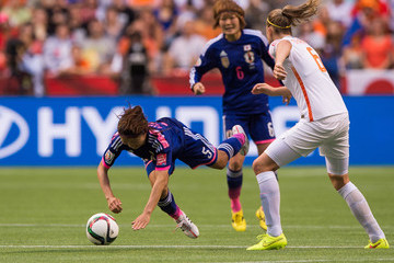 Anouk Dekker Japan v Netherlands: Round of 16 - FIFA Women's World Cup 2015