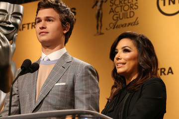 Ansel Elgort 21st Annual SAG Nominations — Part 2