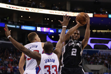 Antawn Jamison San Antonio Spurs v Los Angeles Clippers