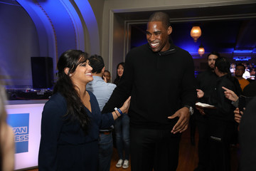 Antawn Jamison American Express 'All for Dub Nation' Watch Party #2