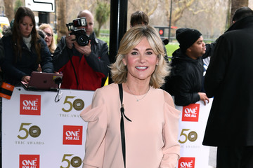 Anthea Turner 'TRIC Awards' 2019 - Red Carpet Arrivals