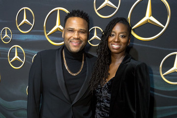 Anthony Anderson Alvina Stewart Mercedez-Benz USA's Official Awards Viewing Party - Arrivals