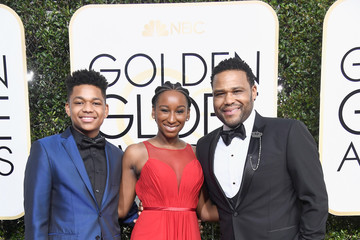 Anthony Anderson Kyra Anderson 74th Annual Golden Globe Awards - Arrivals