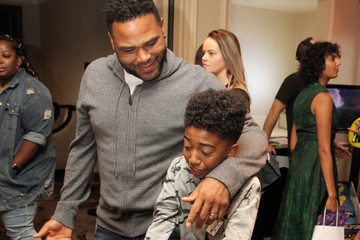 Anthony Anderson Miles Brown HBO Luxury Lounge Presented By Ancestry - Day 2