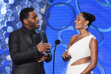 Anthony Anderson Tracee Ellis Ross 68th Annual Primetime Emmy Awards - Show