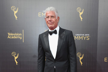 Anthony Bourdain 2016 Creative Arts Emmy Awards - Day 2 - Arrivals
