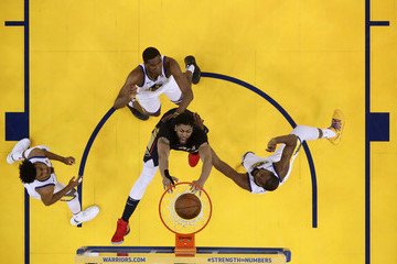 Anthony Davis Kevin Durant New Orleans Pelicans vs. Golden State Warriors - Game Five