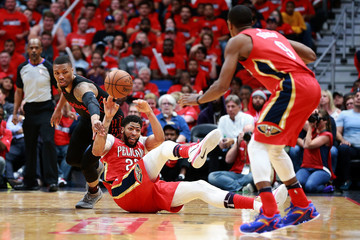 Anthony Davis Portland Trail Blazers vs. New Orleans Pelicans - Game Three
