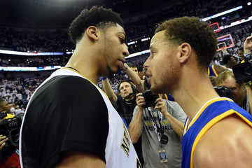 Anthony Davis Stephen Curry Golden State Warriors v New Orleans Pelicans - Game Four