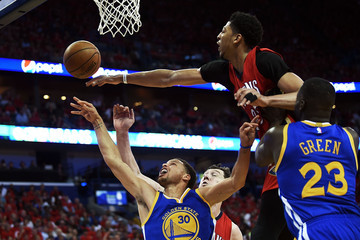 Anthony Davis Stephen Curry Golden State Warriors v New Orleans Pelicans - Game Three