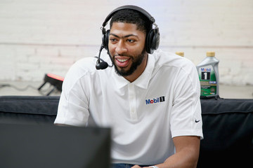 Anthony Davis Anthony Davis Joins ExxonMobil For 20K Road Trip Pit Stop In Los Angeles