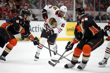 Anthony Duclair Chicago Blackhawks vs. Anaheim Ducks