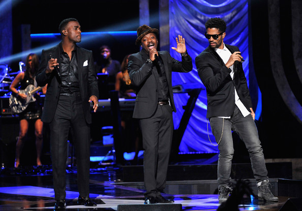 BET's Black Girls Rock 2012 - Show [performance,entertainment,performing arts,music artist,event,stage,public event,musical theatre,music,talent show,eric benet,anthony hamilton,luke james,l-r,new york city,paradise theater,bet,black girls rock 2012 - show]
