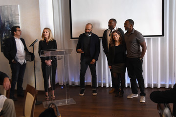 Anthony Mackie AT&T and Tribeca Host Luncheon AT&T Presents: Untold Stories - an Inclusive Film Program in Collaboration With Tribeca