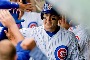 Anthony Rizzo Milwaukee Brewers v Chicago Cubs