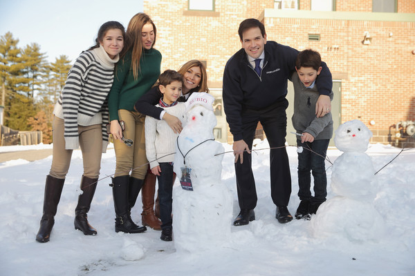 Photo of Marco Rubio & his  Son  Dominick Rubio
