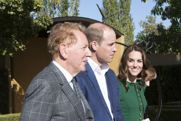 Anthony von Mandl Prince William and Kate Middleton, the Duke and Duchess of Cambridge, Visit Mission Hill Family Estate in British Columbia's Okanagan Valley