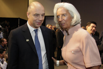 Anton Siluanov IMF And World Bank Hold Annual Meetings