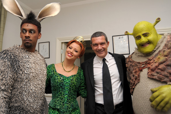 Antonio Banderas and Kimberley Walsh Photos Photos - Shrek ...