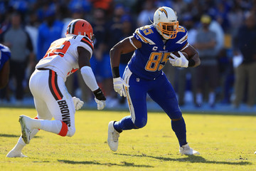 Antonio Gates Cleveland Browns vLos Angeles Chargers