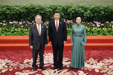 Antonio Guterres Belt and Road Forum for International Cooperation - Day One