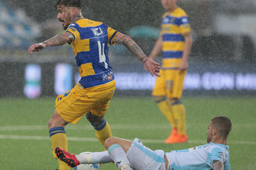 Antonio Junior Vacca Virtus Entella vs. Parma Calcio - Serie B