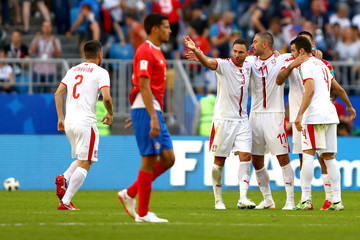Antonio Rukavina Costa Rica vs. Serbia: Group E - 2018 FIFA World Cup Russia