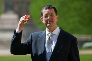 Antony Gormley Investitures Held at Windsor Castle