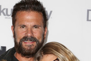 """Actor Lorenzo Lamas (L) and daughter Victoria Lamas arrive at the """"On Any Sunday, The Next Chapter,"""" a film from Red Bull Media House, premiere at Dolby Theatre on October 22, 2014 in Hollywood, California.  The film releases nationwide on November 7."""