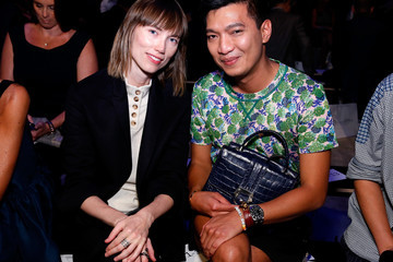 Anya Ziourova Supima - Front Row - Mercedes-Benz Fashion Week Spring 2015