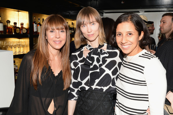 Guests at the Casadei Dinner in NYC [photo,event,fashion,little black dress,fashion design,party,style,alessandra casadei,julia restoin roitfeld celebrating resort,casadei dinner,r,cesare casadei,karla martinez,resort 2014,omar,dinner]