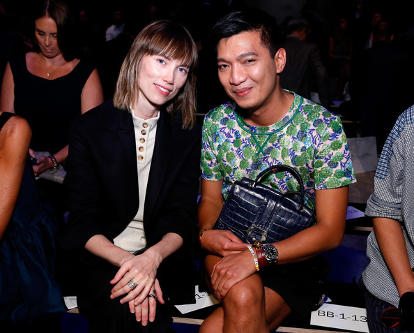 Supima - Front Row - Mercedes-Benz Fashion Week Spring 2015