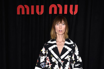 Anya Ziourova Arrivals at Miu Miu