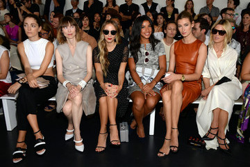 Anya Ziourova Jason Wu - Front Row - Mercedes-Benz Fashion Week Spring 2015