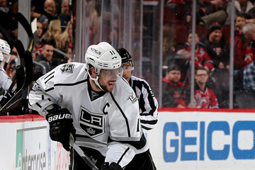 Anze Kopitar Los Angeles Kings v New Jersey Devils