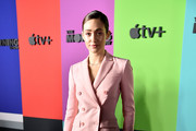 """Emmy Rossum attends the Apple TV+'s """"The Morning Show"""" World Premiere at David Geffen Hall on October 28, 2019 in New York City."""
