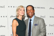 """(L-R) Bryant Gumbel and Hilary Quinlan attends the """"Arbitrage"""" New York Premiere at Walter Reade Theater on September 12, 2012 in New York City."""