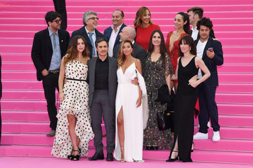 "Ariadna Gil ""Aqui En La Tierra"" and ""Cacciatore The Hunter"" Pink Carpet Arrivals - The 1st Cannes International Series Festival"